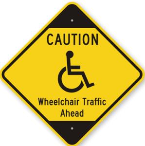 Caution-Wheelchair-Traffic-Ahead-Sign-K-7765