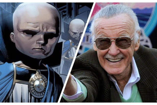 Uatu the Watcher and Stan Lee