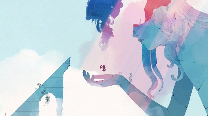 Ending image from the game Gris